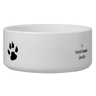 A General Contractor Loves Me Dog Bowls