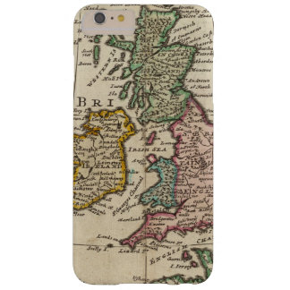 A general map of Great Britain and Ireland Barely There iPhone 6 Plus Case