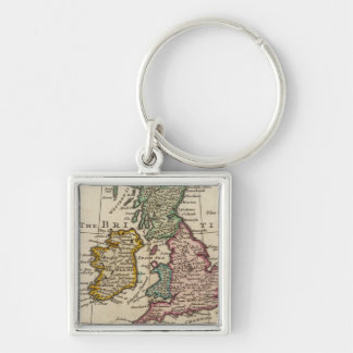 A general map of Great Britain and Ireland Keychain
