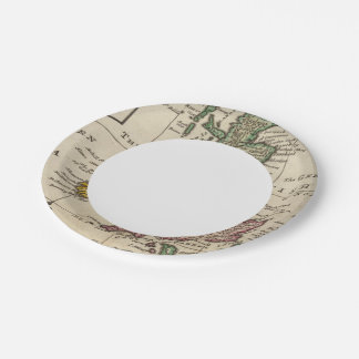 A general map of Great Britain and Ireland Paper Plate