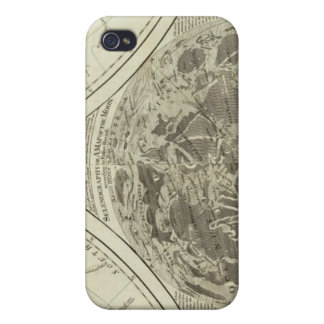 A general map of terraqueous globe or the world iPhone 4 cases