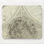 A general map of terraqueous globe or the world mouse pad