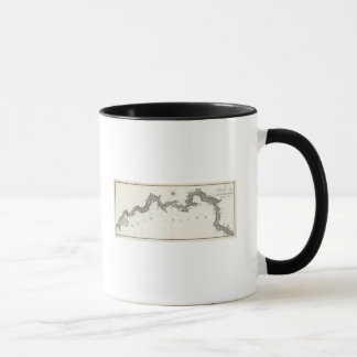 A General Map of the River Ohio, Plate the third Mug
