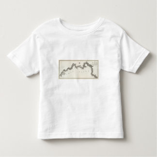 A General Map of the River Ohio, Plate the third Toddler T-shirt