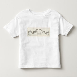 A General Map Of The River Ohio Toddler T-shirt