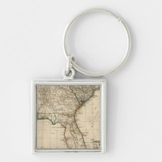 A General Map of the Southern British Colonies Keychain