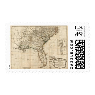 A General Map of the Southern British Colonies Postage Stamps