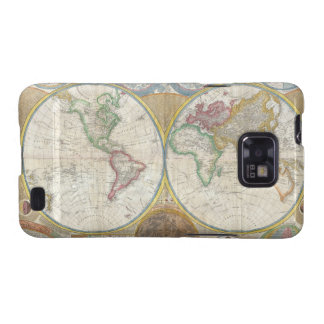 A General Map of the World by Samuel Dunn 1794 Galaxy SII Cover