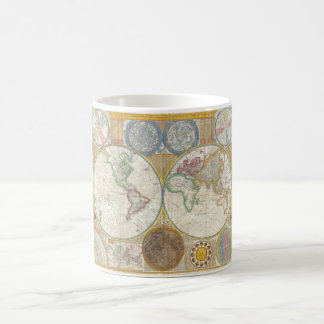 A General Map of the World by Samuel Dunn 1794 Coffee Mug