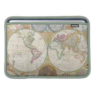 A General Map of the World by Samuel Dunn 1794 MacBook Air Sleeves