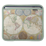 A General Map of the World by Samuel Dunn 1794 Sleeve For iPads