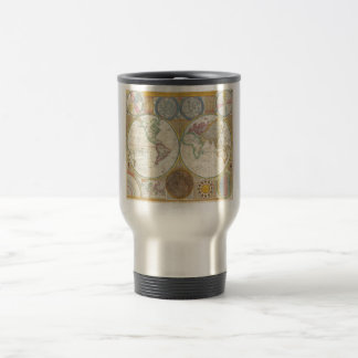A General Map of the World by Samuel Dunn 1794 Travel Mug
