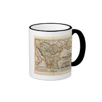 A general map of Turkey in Europe Ringer Coffee Mug