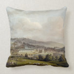 A General View of Bath, from 'Bath Illustrated by Throw Pillow