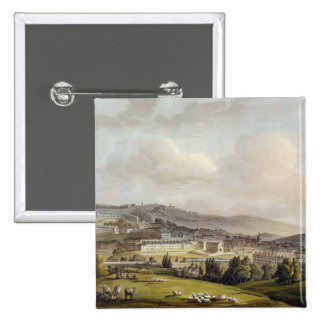 A General View of Bath, from 'Bath Illustrated by Pinback Button