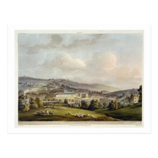 A General View of Bath from Bath Illustrated by Postcard