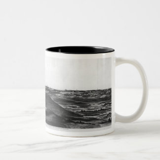 A General View of the Great Battle of Two-Tone Coffee Mug