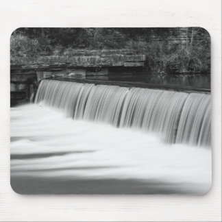 A Gentle Change Grayscale Mouse Pad