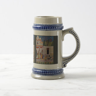 A Gentleman And Lady Watch Pigeons By Indischer Ma Mug