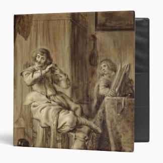A Gentleman at his Toilet, 1660 Vinyl Binders