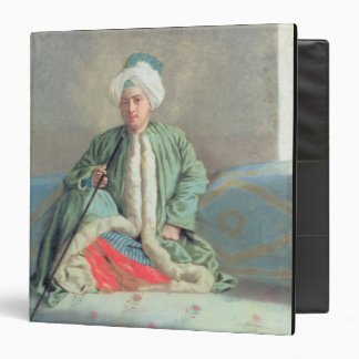 A Gentleman Seated on a Couch Binder