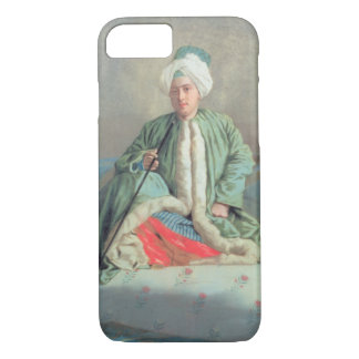 A Gentleman Seated on a Couch iPhone 7 Case