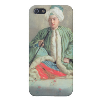 A Gentleman Seated on a Couch iPhone 5 Covers