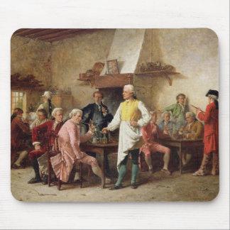 A Gentleman's Debate, 1881 (oil on panel) Mouse Pad