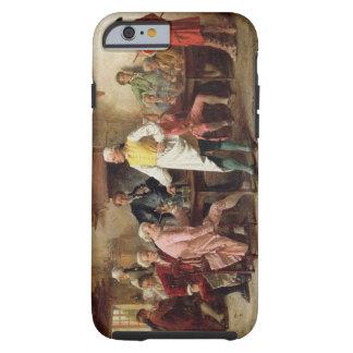 A Gentleman's Debate, 1881 (oil on panel) Tough iPhone 6 Case