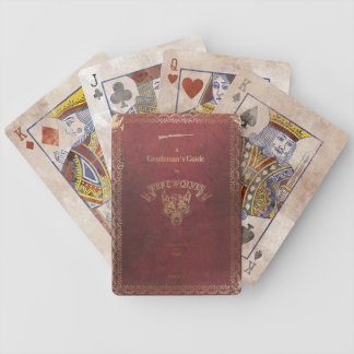 A Gentleman's guide to Werewolves. Bicycle Playing Cards
