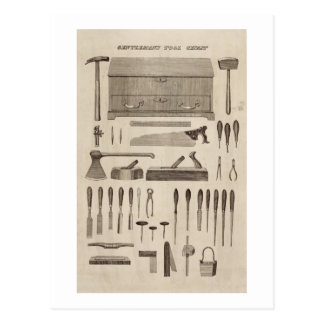 A Gentleman's Tool Chest, from the catalogue of Cu Postcard