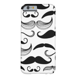 A Gentlemen's Club. Mustache pattern 2 Barely There iPhone 6 Case