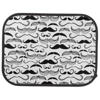 A Gentlemen's Club. Mustache pattern 2 Car Mat