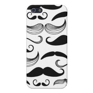 A Gentlemen's Club. Mustache pattern 2 iPhone SE/5/5s Cover
