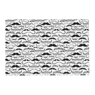 A Gentlemen's Club. Mustache pattern 2 Placemat