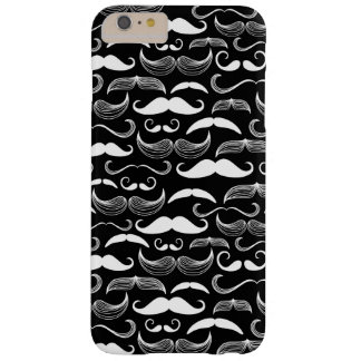 A Gentlemen's Club. Mustache pattern Barely There iPhone 6 Plus Case