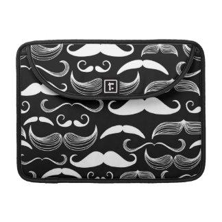 A Gentlemen's Club. Mustache pattern MacBook Pro Sleeves