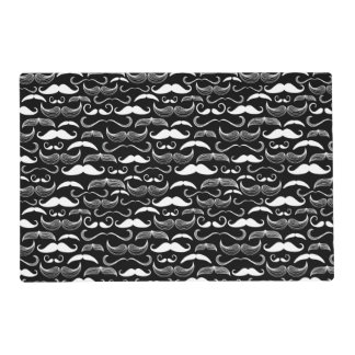 A Gentlemen's Club. Mustache pattern Placemat