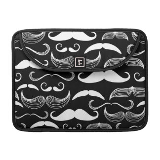 A Gentlemen's Club. Mustache pattern Sleeve For MacBook Pro