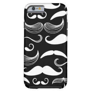 A Gentlemen's Club. Mustache pattern Tough iPhone 6 Case