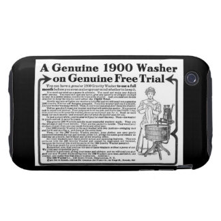 A Genuine 1900 Washer  iPhone 3G/3GS Case