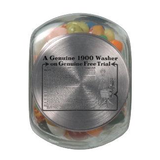 A Genuine 1900 Washer Jelly Belly™ Glass Jar