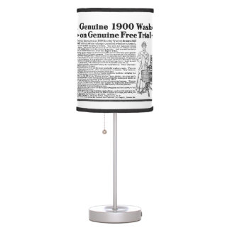 A Genuine 1900 Washer Table Lamp
