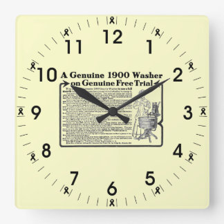 A Genuine 1900 Washer Wall Clock