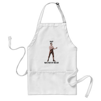 A Genuine Overly Manly Man Adult Apron