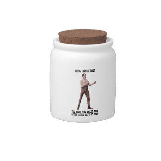 A Genuine Overly Manly Man Candy Dish