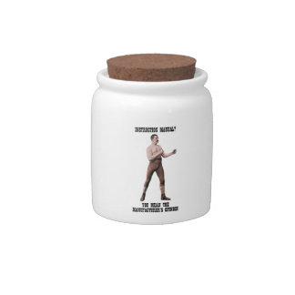 A Genuine Overly Manly Man Candy Jar