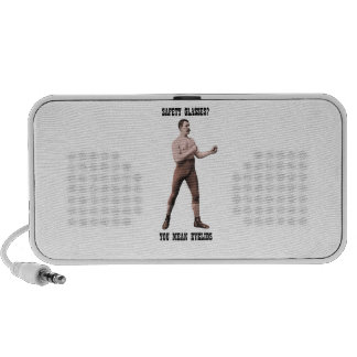 A Genuine Overly Manly Man Laptop Speakers