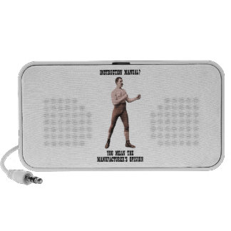 A Genuine Overly Manly Man iPod Speaker