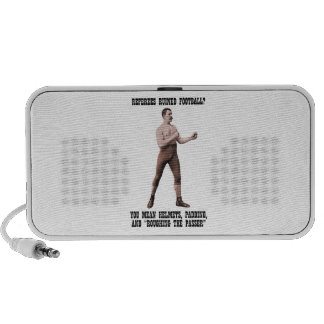 A Genuine Overly Manly Man Laptop Speaker